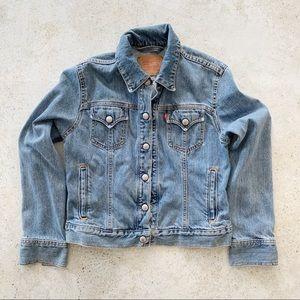 💙 VINTAGE LEVIS Jean Denim Jacket size S